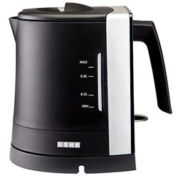 Black and White Usha EK 3210 Electric Kettle