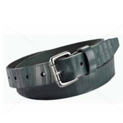Wonderful Black Gents Belt of Leather from Titan Fastrack