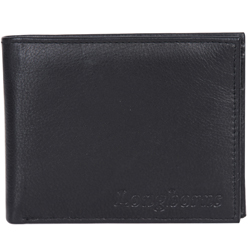 Dashing Longhorn Gents Leather Wallet in Dark Brown Colour