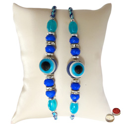 2 pcs Evils Eye Rakhi from Masters of Fengsui