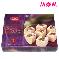 Lovely 1/2 Kg Soan Papdi from Haldiram with Warm Love