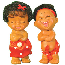 Perky Jungle Dolls Couple By Masoom Playmates