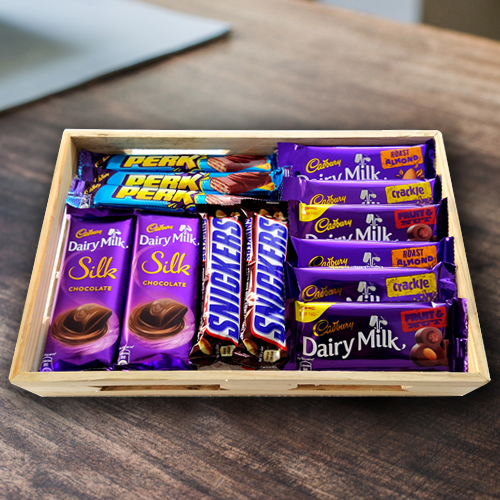 Delightful Assorted Chocolates Gift Hamper