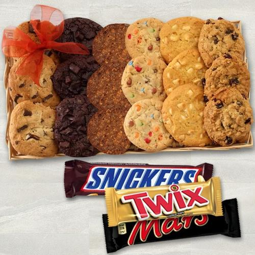 Delectable Cookies from Cookie Man N Chocos Gift Hamper