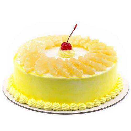 Delightful Pineapple Cake from Taj or 5 Star Hotel Bakery