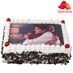 Delicacy Choice Black Forest Photo Cake