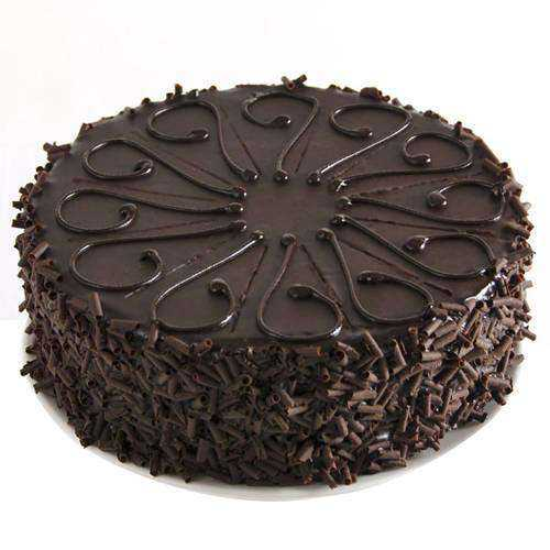 Delicious Eggless Chocolate Cake for Birthday