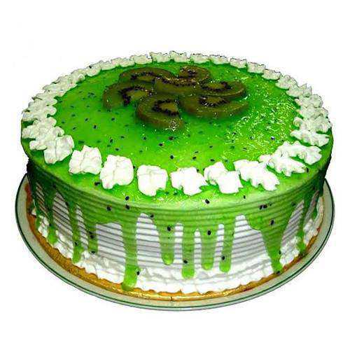 Mouth-Watering Kiwi Cake