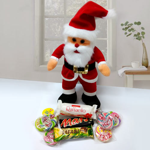 Imported Chocolates with Santa Claus