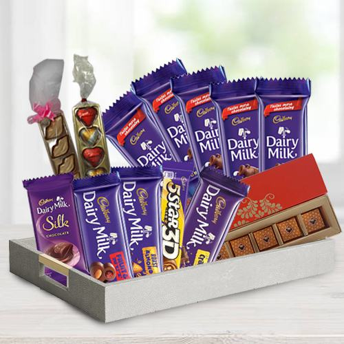 Chocolaty 5th Years Valentine Treat Gift Hamper