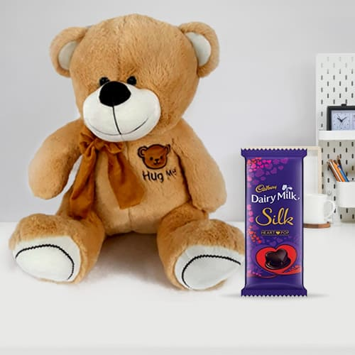 Exciting Teddy with Chocolate for Kids