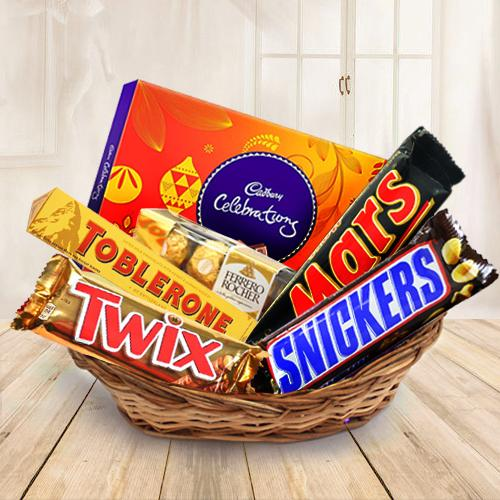 Amazing Chocolate Gift Basket