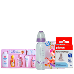 Lovely Baby Care Gift Set from Johnson