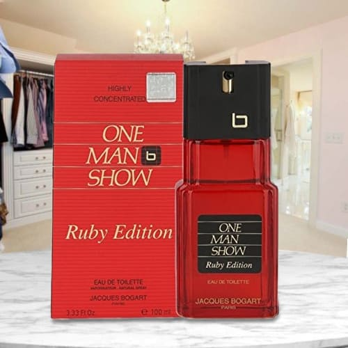 Amazing Bogart One Man Show Ruby Edition Perfume for Men