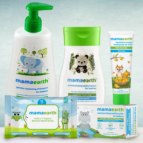 Soft N Supple Baby Care Hamper from Mamaearth