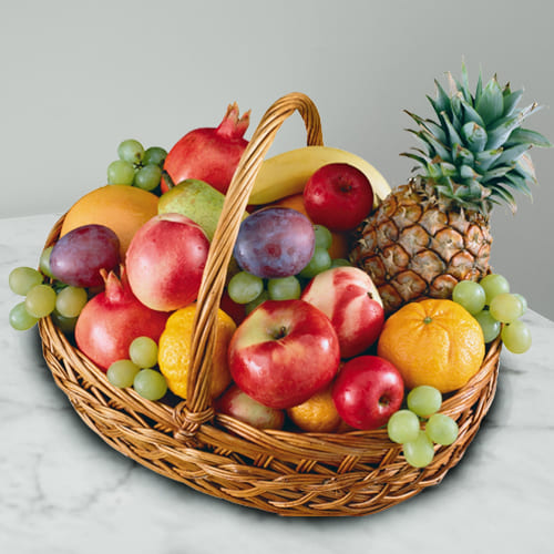 Fresh-Picked Seasonal Fruits Basket