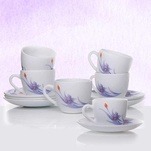 Attractive LaOpala Ceramic Cup n Saucer Set