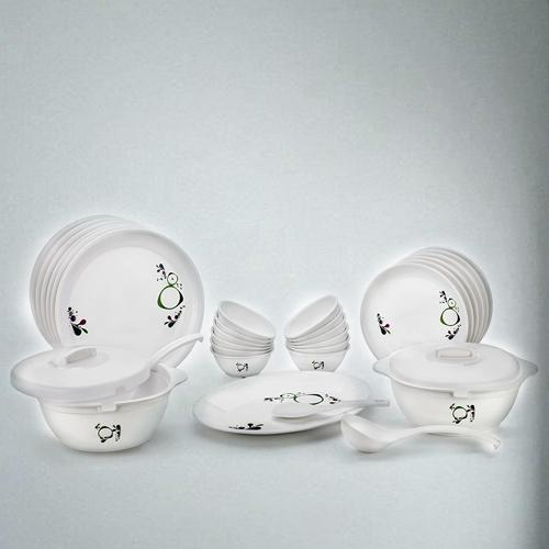 Fancy Signoraware Drop Scapes Plastic Dinner Set