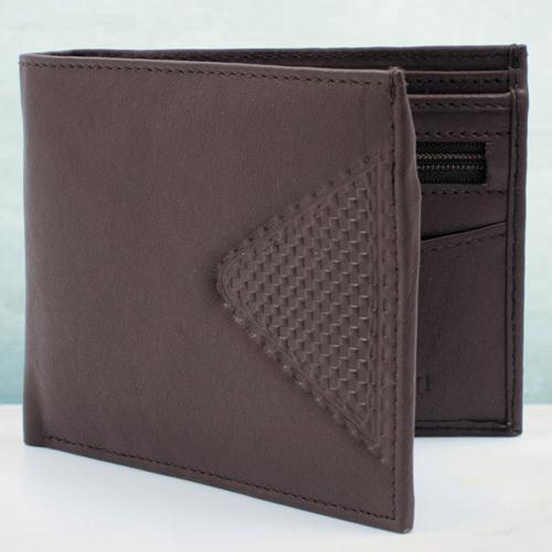 Stunning Dark Brown Mens Wallet