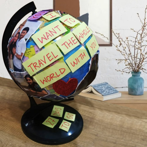 Wonderful Personalized Globe