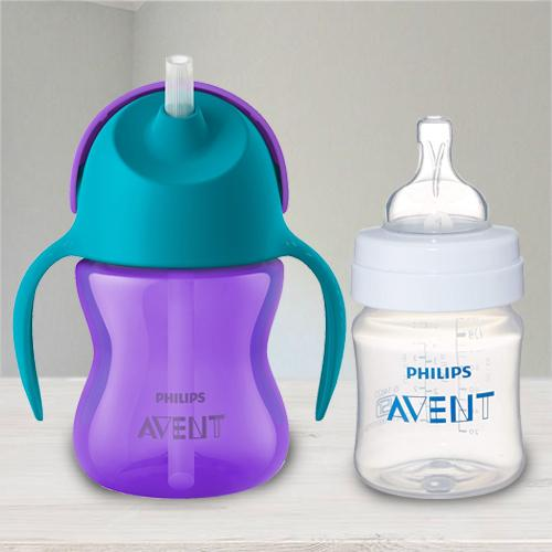 Marvelous Philips Avent Straw Cup N Anti Colic Bottle