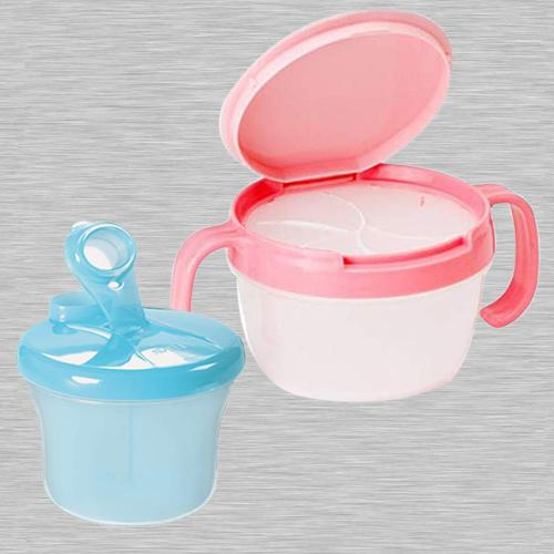 Amazing Food Storage Box N Spill-Proof Snack Catchers Bowl