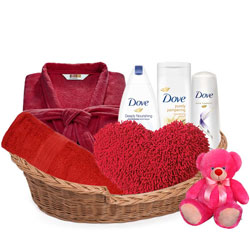 Fabulous Body N Hair Care Gift Basket for Her