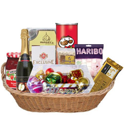 Grand Anniversary Celebration Gift Basket<br>