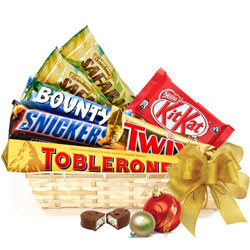 Delicious Choco Delight Gift Basket<br>