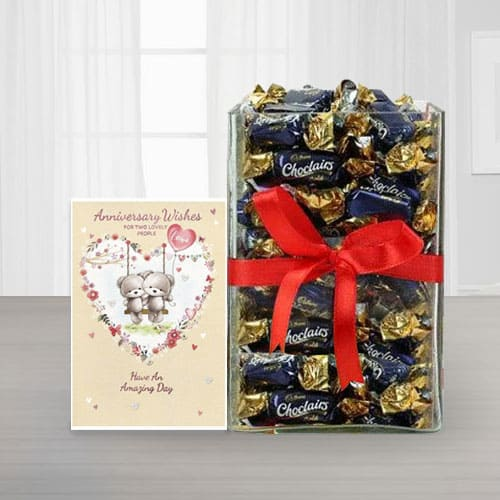 Special Chocolate Hamper for Anniversary<br>