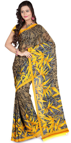 Calico Grace Faux Georgette Saree
