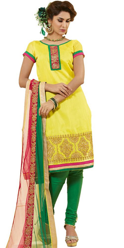 Expressed Ecstasy Chanderi Dress Material