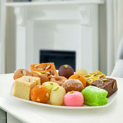 Ideal Haldirams Mixed Sweets Platter