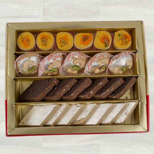 Yummy Mix Mithai from Bhikaram