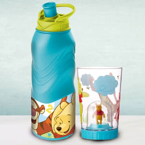 Remarkable Disney Winnie the Pooh Bottle N Tumbler Combo