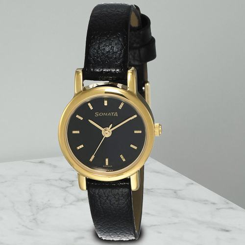 Impressive Sonata Analog Womens Watch